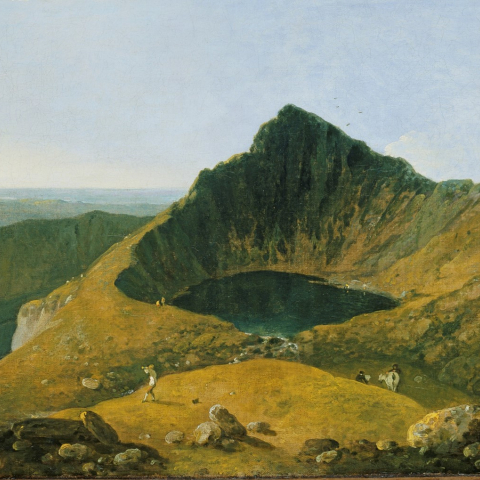 Cader Idris, painted by Richard Wilson
