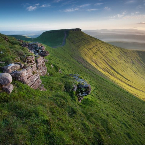 Fforest Fawr Geopark, Brecon Beacons