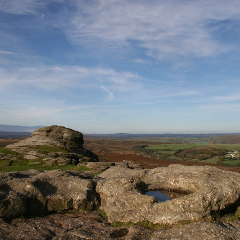 Haytor by Dartmoor National Park Authority