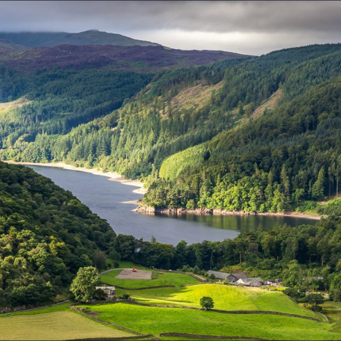 Thirlmere and High Rigg by Andrew Locking