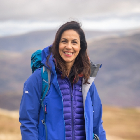 Julia Bradbury of The Outdoor Guide