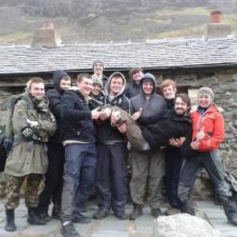Lake District Champions at Black Sail Hut