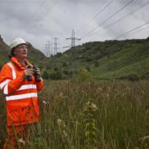National Grid line inspections