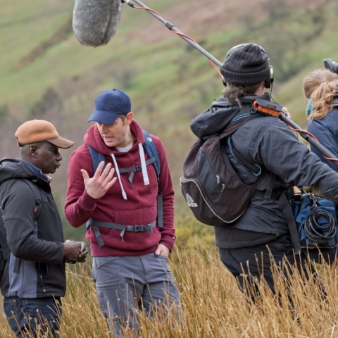 Maxwell Ayamba speaks to Countryfile's Matt Baker