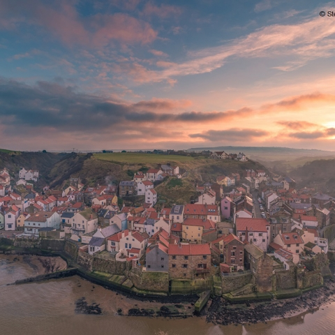 Staithes in the North York Moors. Steve Iceton