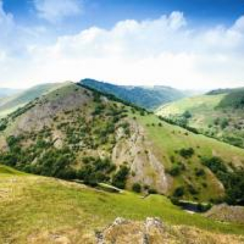Dovedale in The Peak District by Tom Mackie