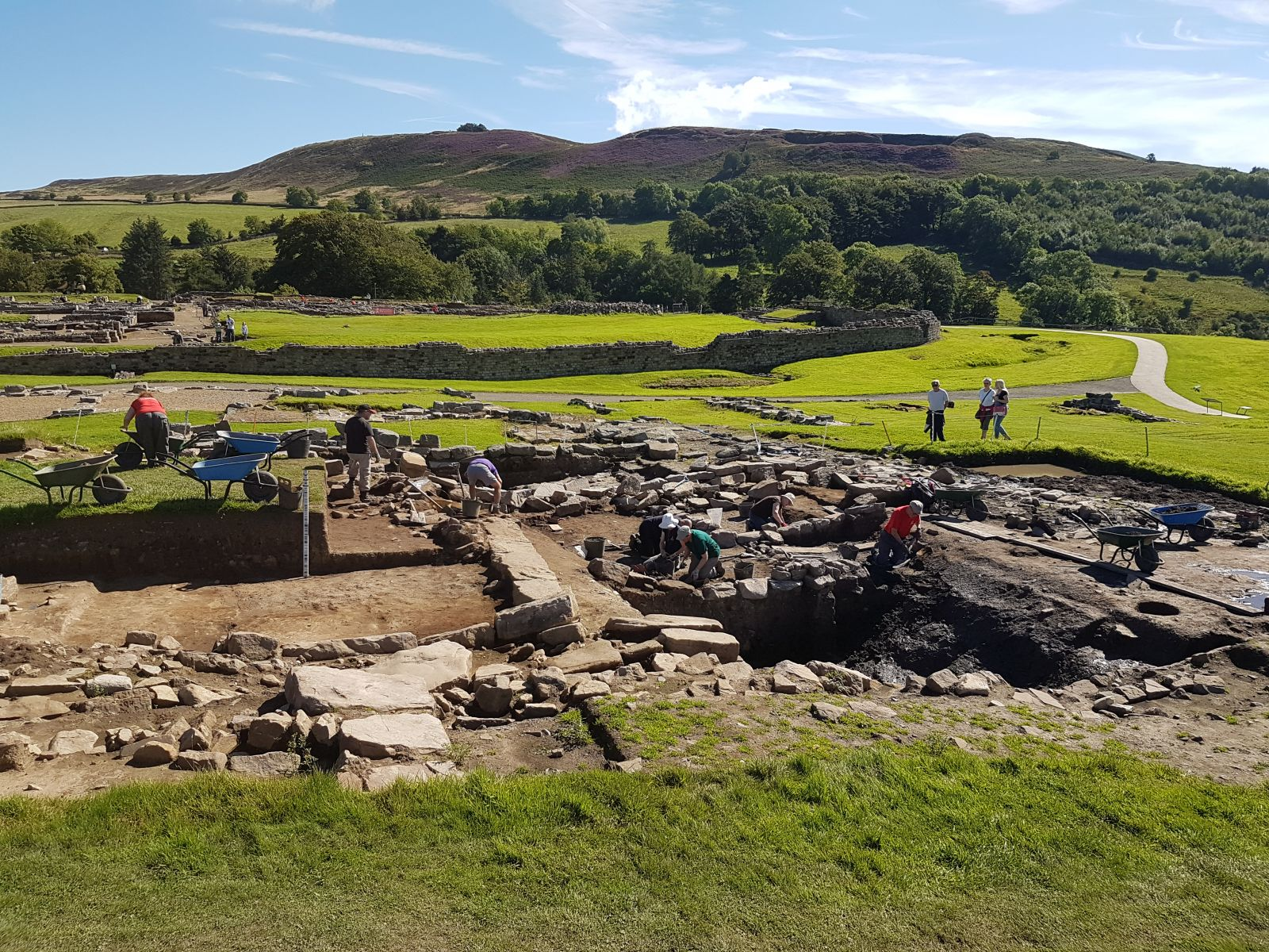 Excavations at Vindolanda
