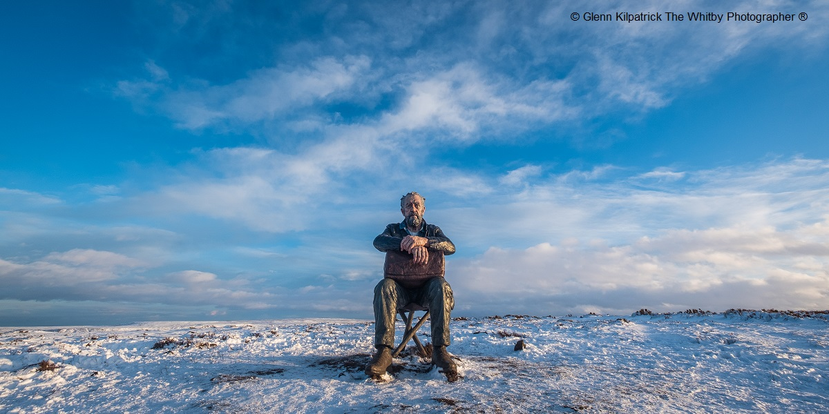 Man on the Moors by Glen Kilpatrick