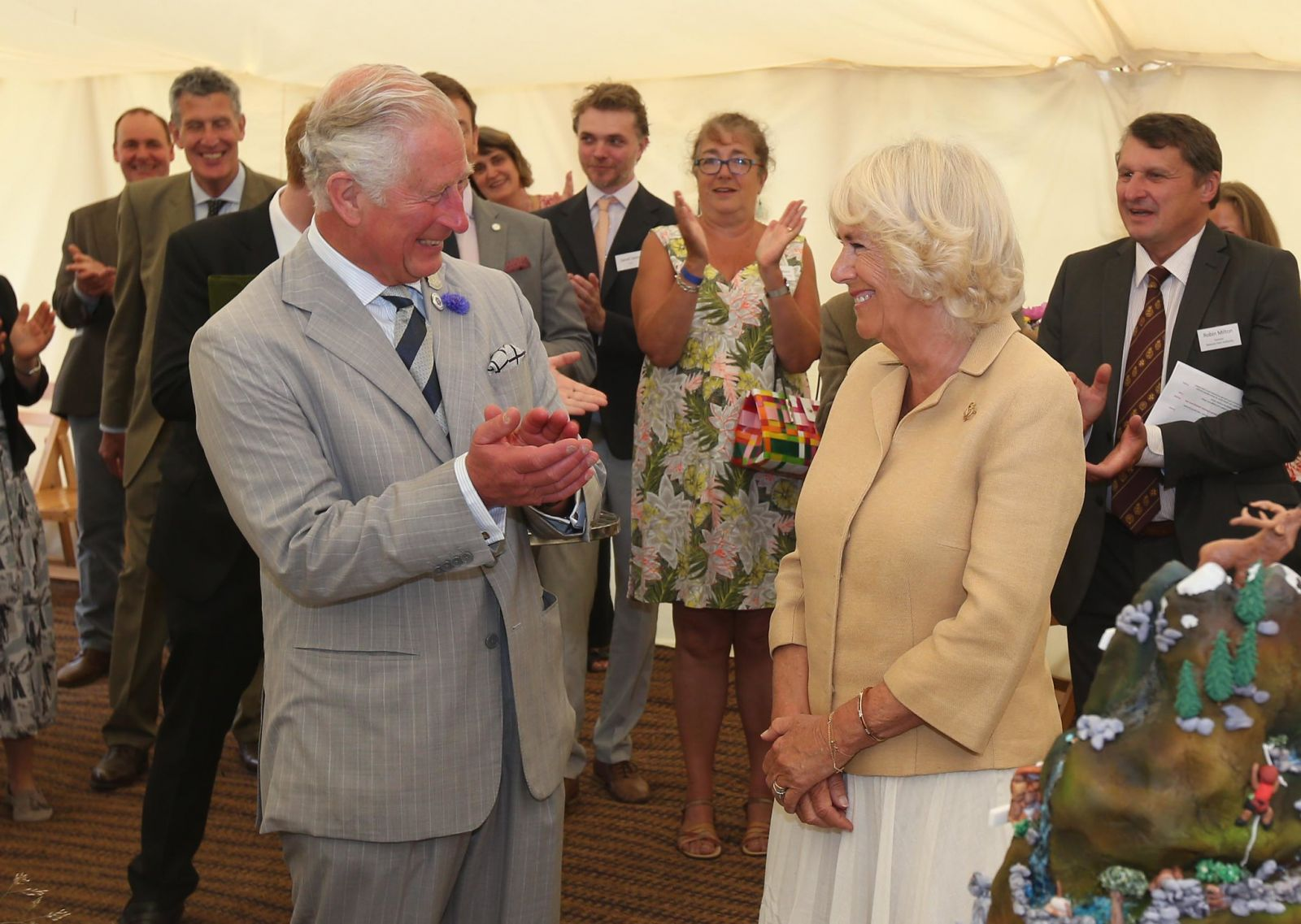 HRH Prince of Wales and the Duchess of Cornwall