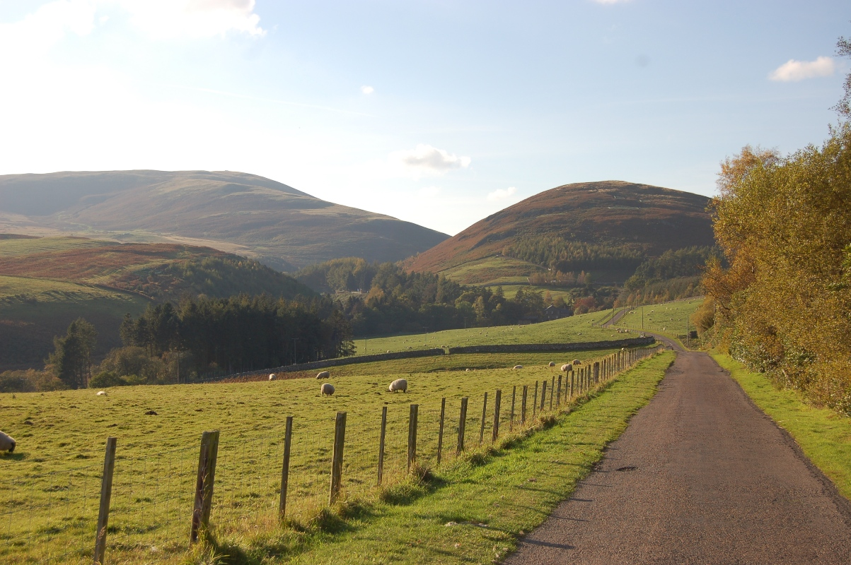 Breamish Valley, Northumberland National Park