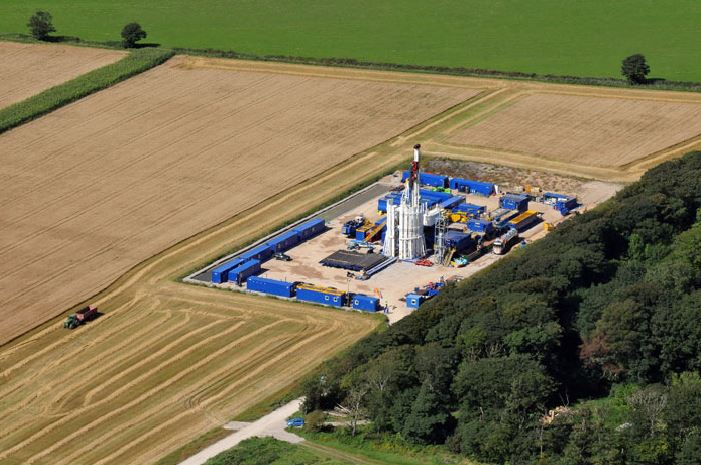 Fracking site. Photo credit: Brian Jones