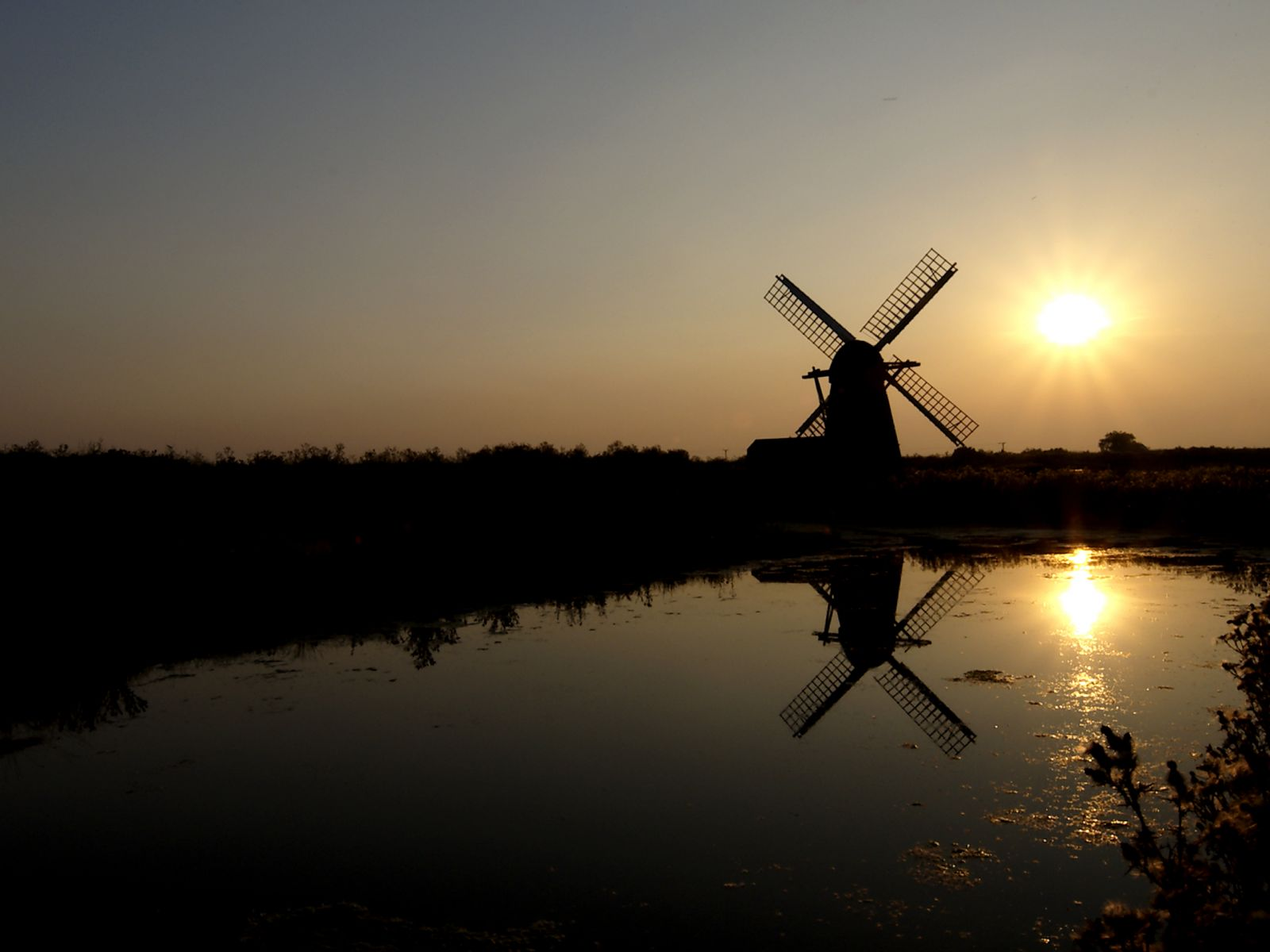 Herringfleet Mill, the Broads