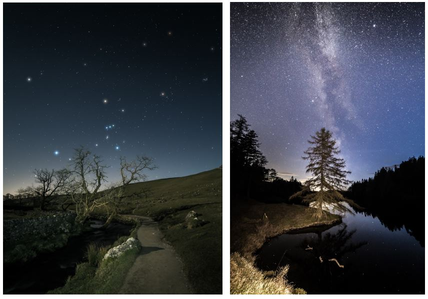 Shooting stars from the Lake District and Yorkshire Dales