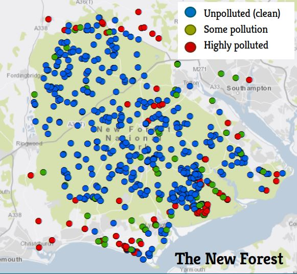 New Forest clean water results