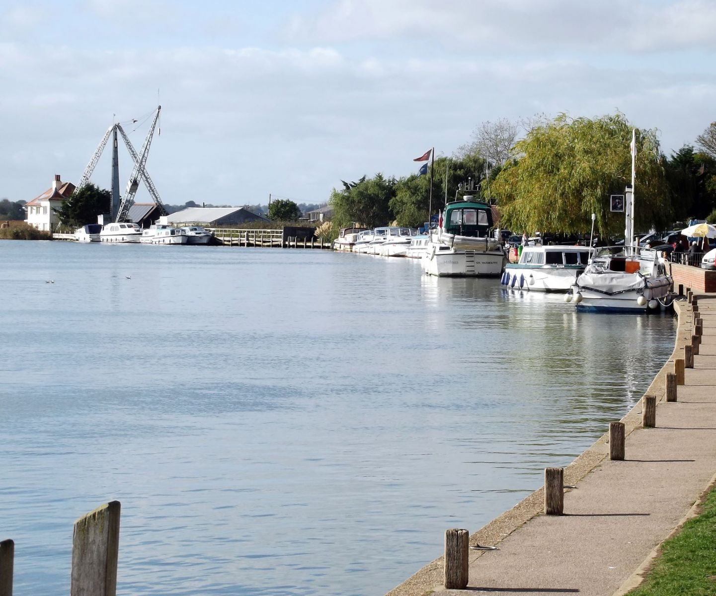 Reedham Quay by Paul Dickson