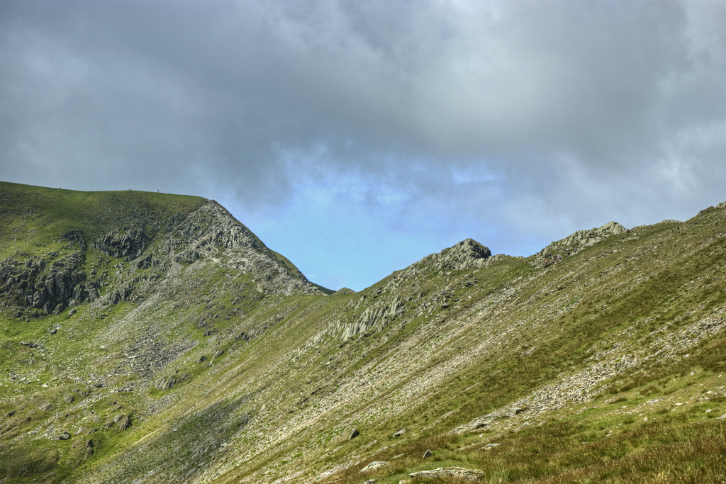 Swirral Edge in the Lake District National Park