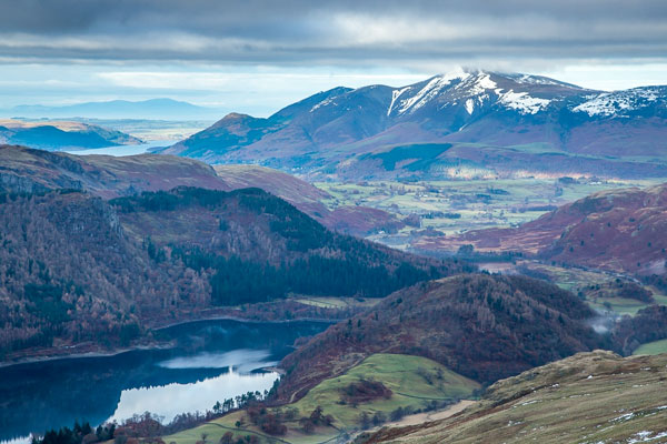 Helvellyn and Thirlmere Lake District